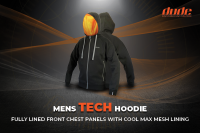An image Dude Clothing Hoodie for disc golf frisbee
