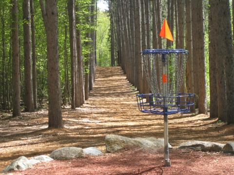 DUDE clothing - Blue Ribbon Pines Disc Golf Course