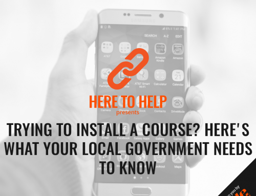 Trying To Install A Course? Here's What Your Local Government Needs To Know