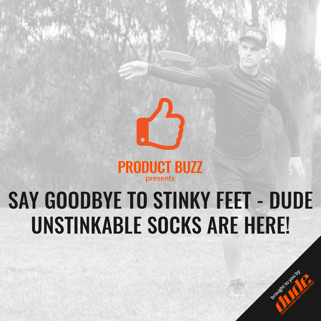 An image of Say Goodbye To Stinky Feet - DUDE Unstinkable Socks Are Here!
