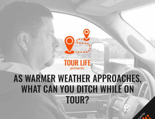 As Warmer Weather Approaches, What Can You Ditch While On Tour?
