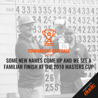 An image of new names come up finish at master's cup