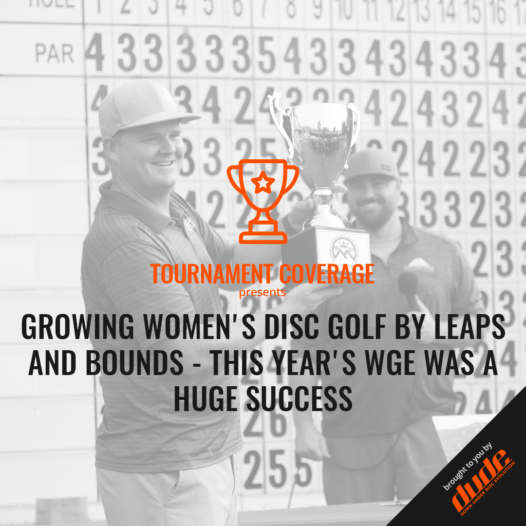 An image of Growing Women's Disc Golf By Leaps And Bounds