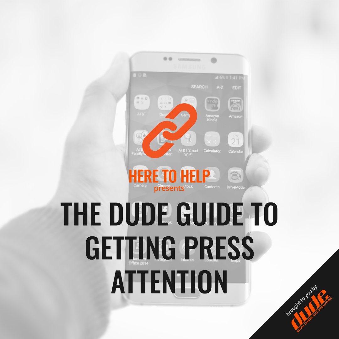 An image of The Dude Guide to Getting Press Attention