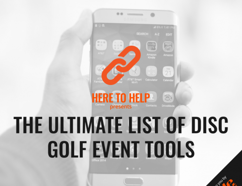 The Ultimate List Of Disc Golf Event Tools