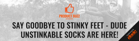 Say Goodbye To Stinky Feet - DUDE Unstinkable Socks Are Here!
