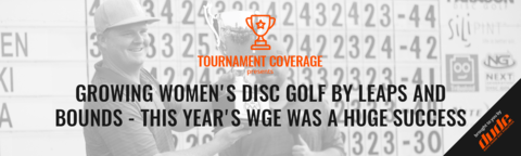 DUDE clothing - Growing Women's Disc Golf By Leaps And Bounds - This Year's WGE Was A Huge Success