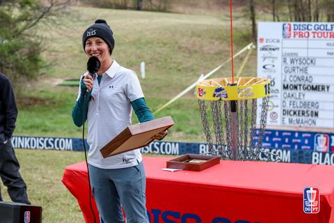 DUDE clothing - Paige Pierce keeps her 100% win rate for the year - DGPT Jonesboro Open wrap up
