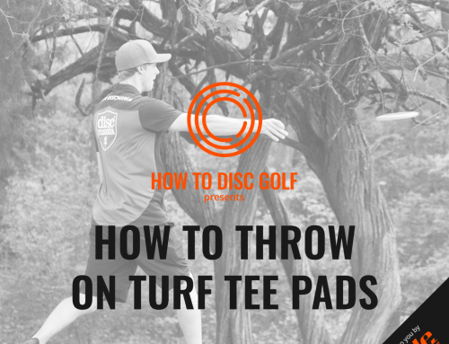 How to throw on turf tee pads