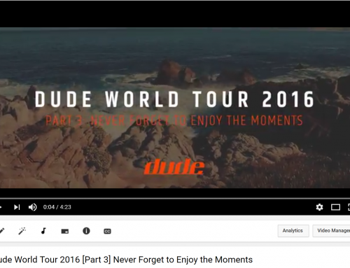 DUDE World Tour 2016 [Part 3] Never Forget to Enjoy the Moments