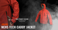 An image of mens tech caddy jacket