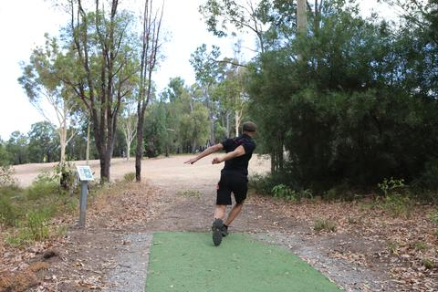 DUDE Clothing - Disc Golf is a mental game, especially off the tee!