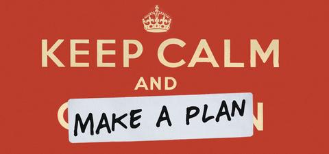 DUDE clothing - Keep Calm and Make a Plan