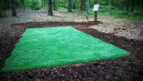 DUDE clothing - The Teebox Co - Turf Tee Pads