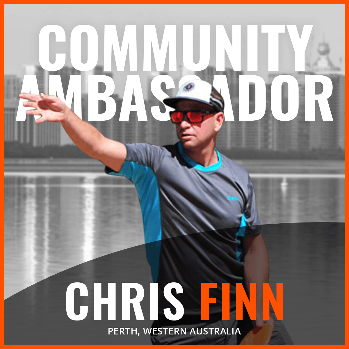 An Image of Chris Finn, Dude Clothing Community Ambassador