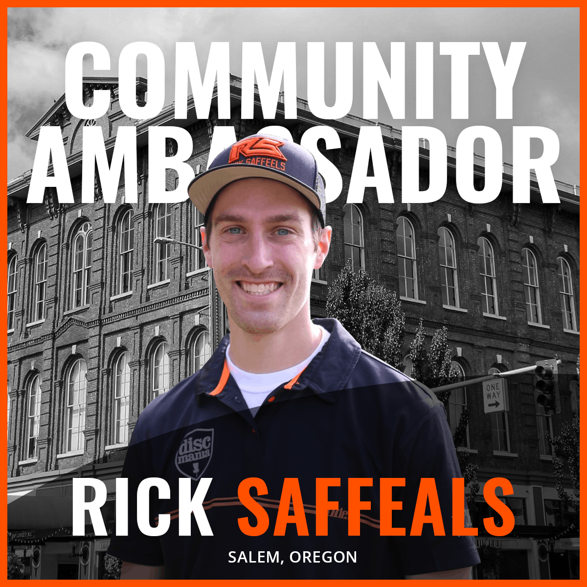 An Image of Rick Saffeals Dude Clothing Community Ambassador
