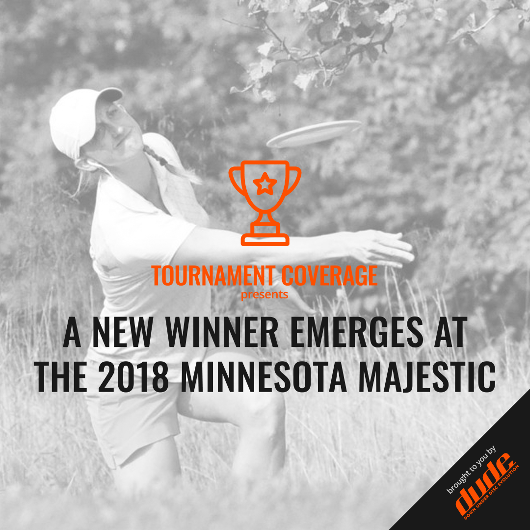 An image of Dude Clothing Minnesota Majestic Disc Golf 2018