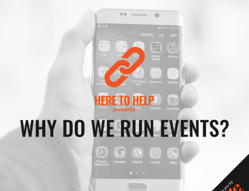 Why do we run events?