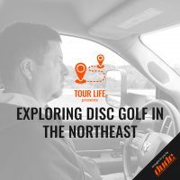 An image of Dude Clothing Tour Life Exploring Disc Golf in the Northeast