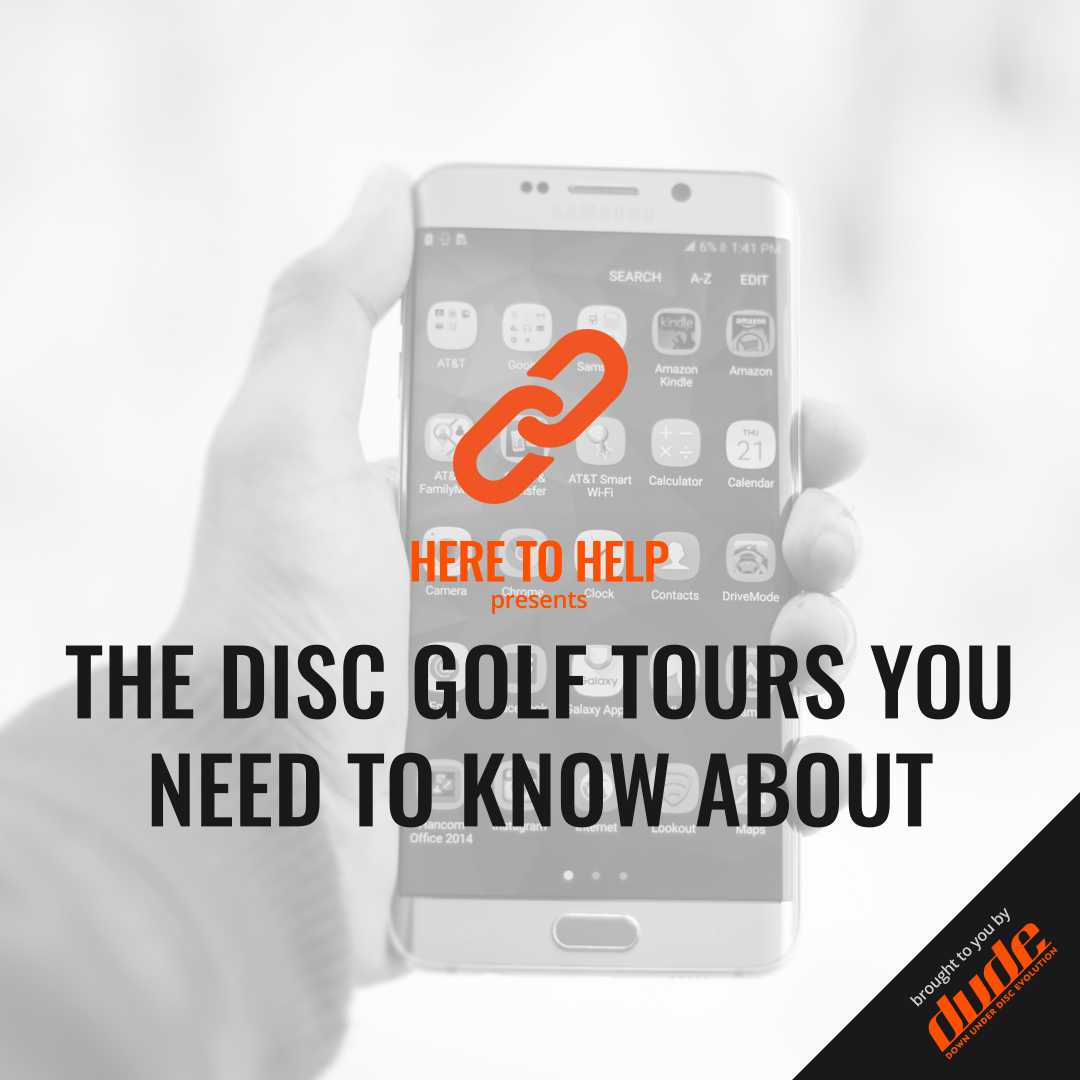 Image of Dude Clothing Here to Help The Disc Golf Tours You Need To Know About