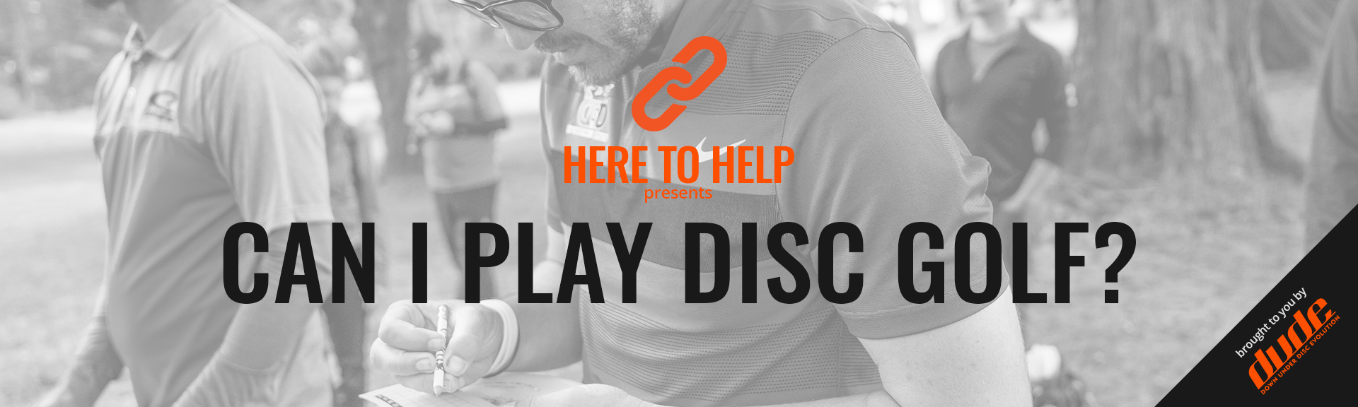 Here to Help - Can I play Disc Golf? Disc Golf, DGPT, Discs, Course, disc golf bags, play