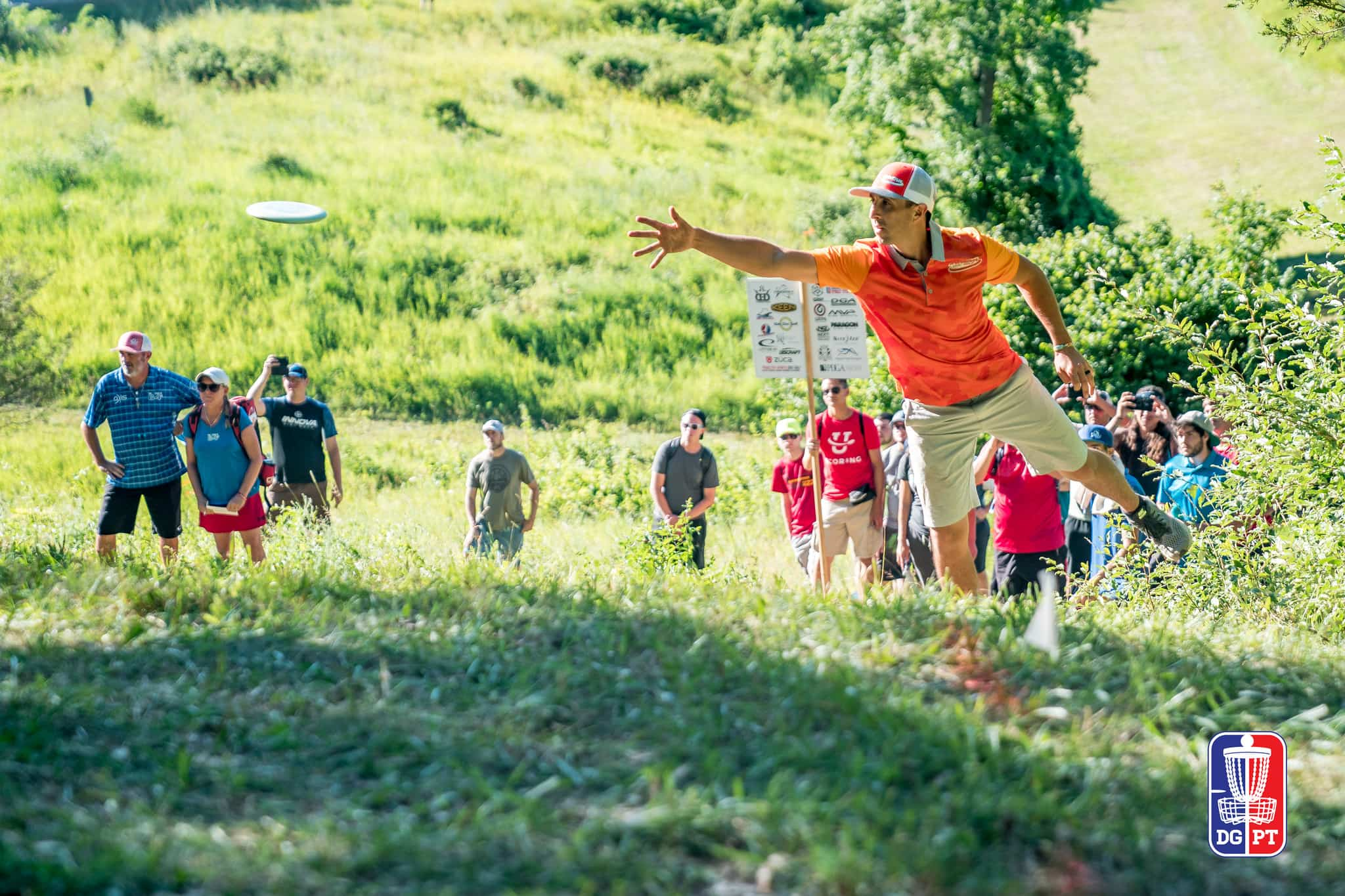 An Image of Paul Mcbeth on Great Lakes Open Tournament