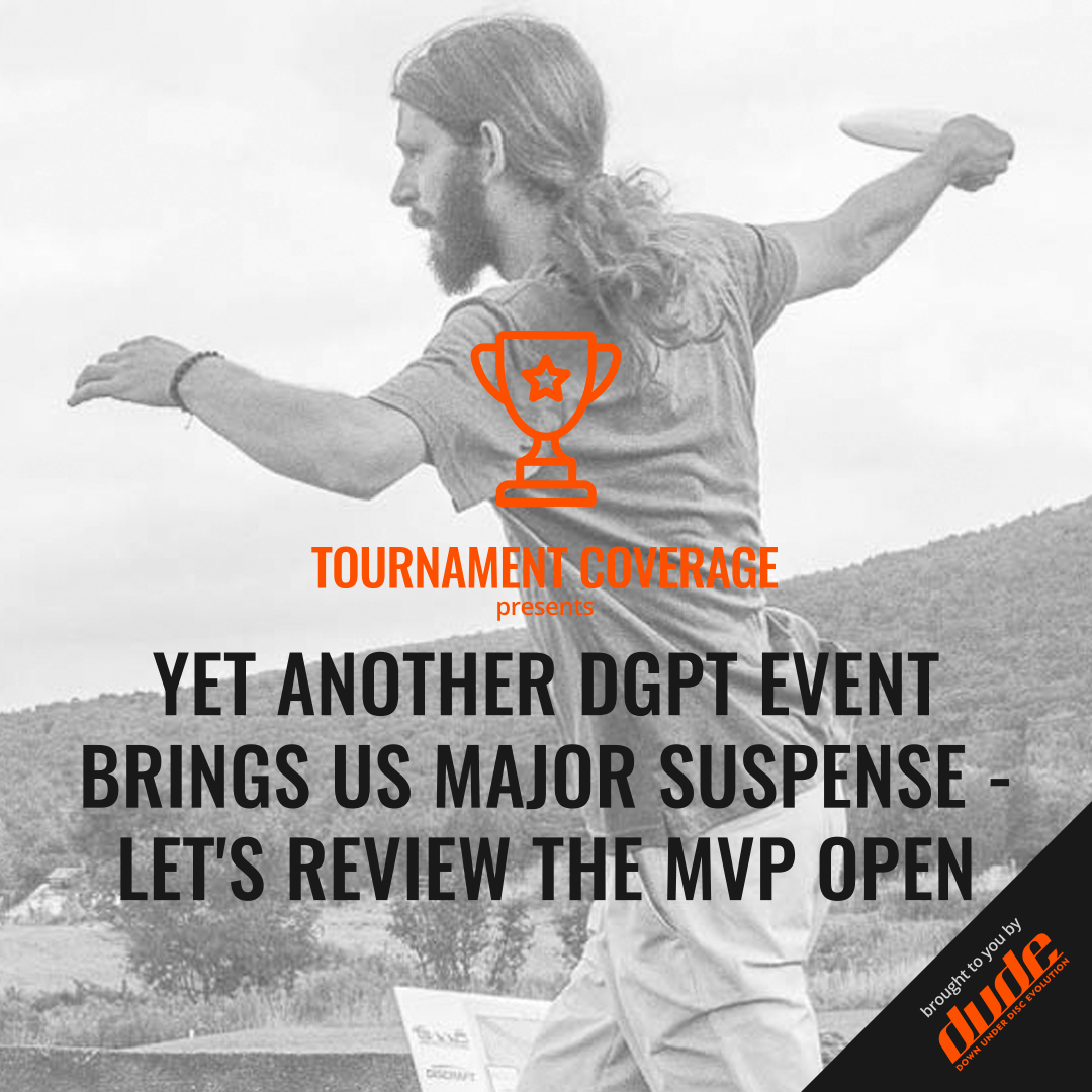 An image of Tournament Coverage MVP Open Maple Hill Disc Golf Course