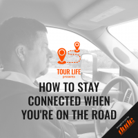 An image of Dude Clothing Tour Life How to stay connected when you're on the road