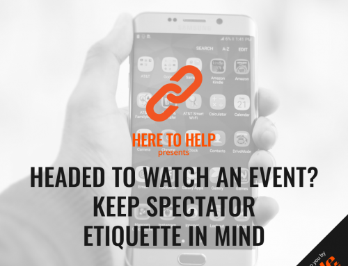 Headed To Watch An Event? Keep Spectator Etiquette In Mind