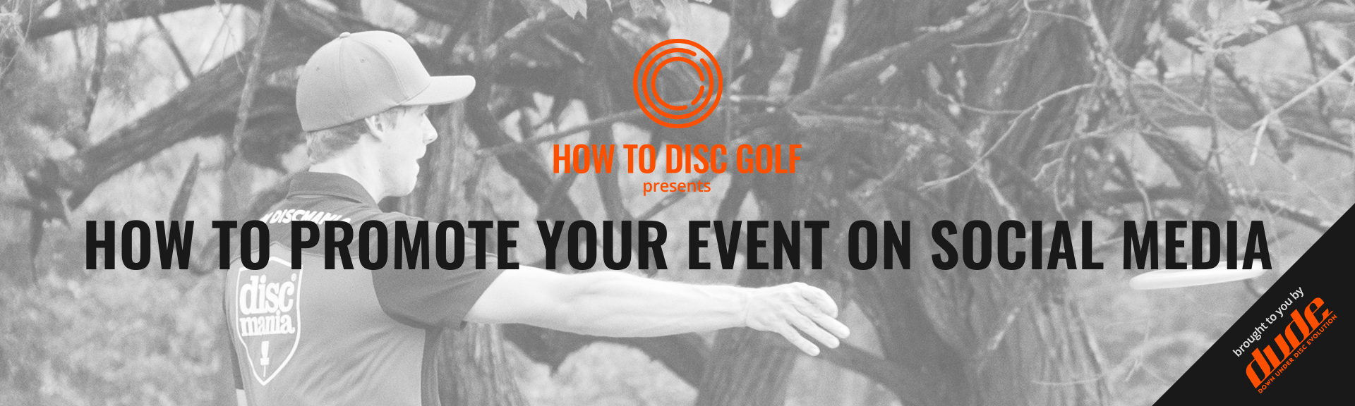 Blog Post Header - How to Disc Golf