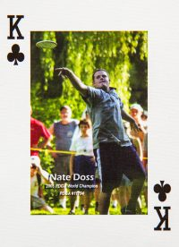 Dude Clothing Playing Cards King of Clubs Nate Doss