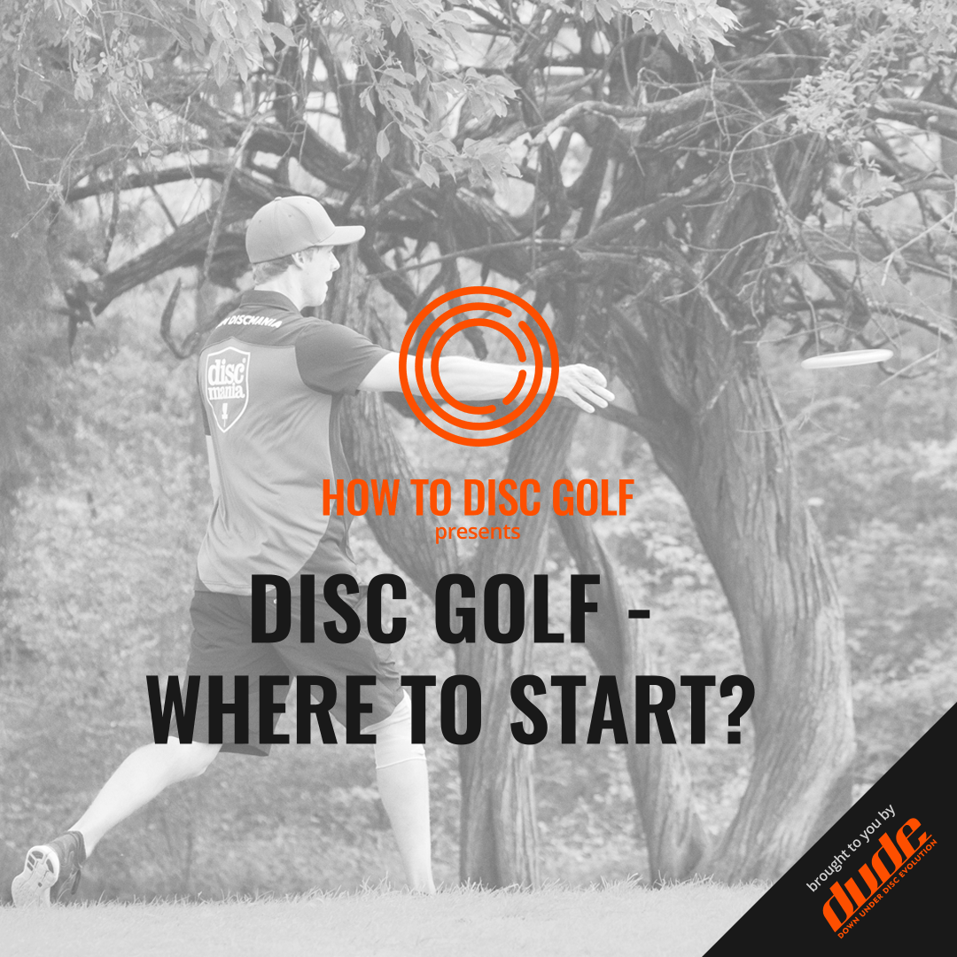 An image of Where should you start disc golf