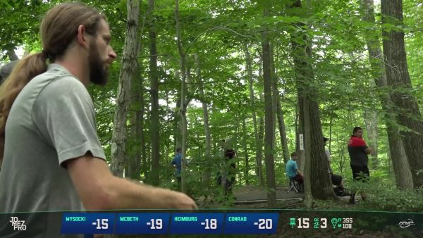 Dude Clothing Tournament Coverage MVP Open Maple Hill Disc Golf Course