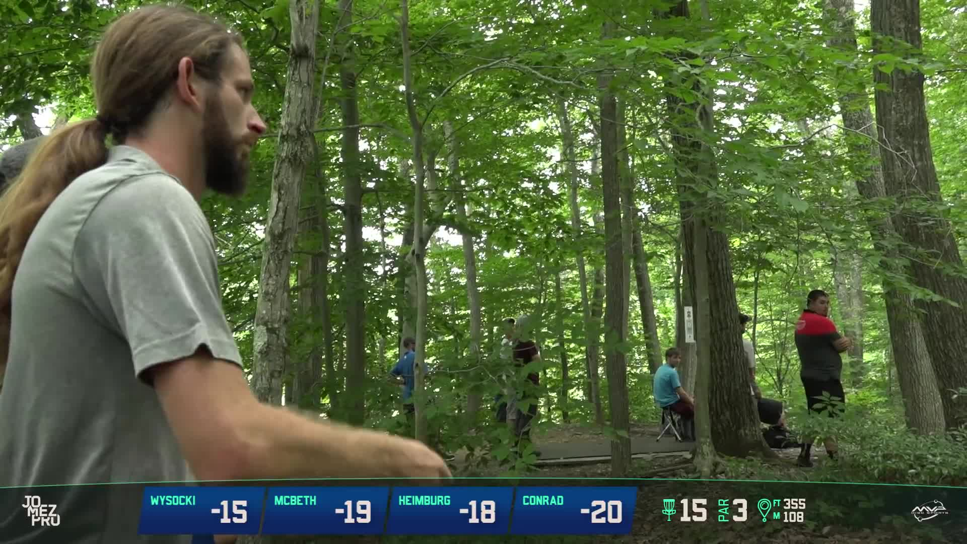 An image of Dude Clothing Tournament Coverage MVP Open Maple Hill Disc Golf Course