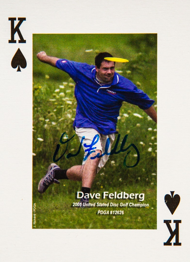 Dude Clothing Playing Cards King of Spades David Feldberg