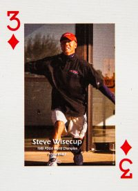 Dude Clothing Playing Cards Three of Diamonds Steve Wisecup