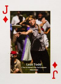 Dude Clothing Playing Cards Jack of Diamonds Lesli Todd