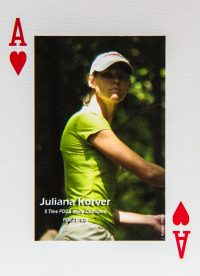 Dude Clothing Playing Cards Ace of Hearts Juliana Korver