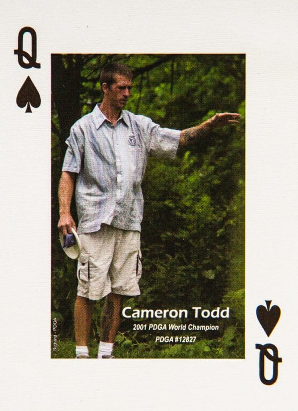 Dude Clothing Playing Cards Queen of Spades Cameron Todd