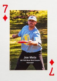 An image of Dude Clothing Playing Cards Seven of Diamonds Joe Mela
