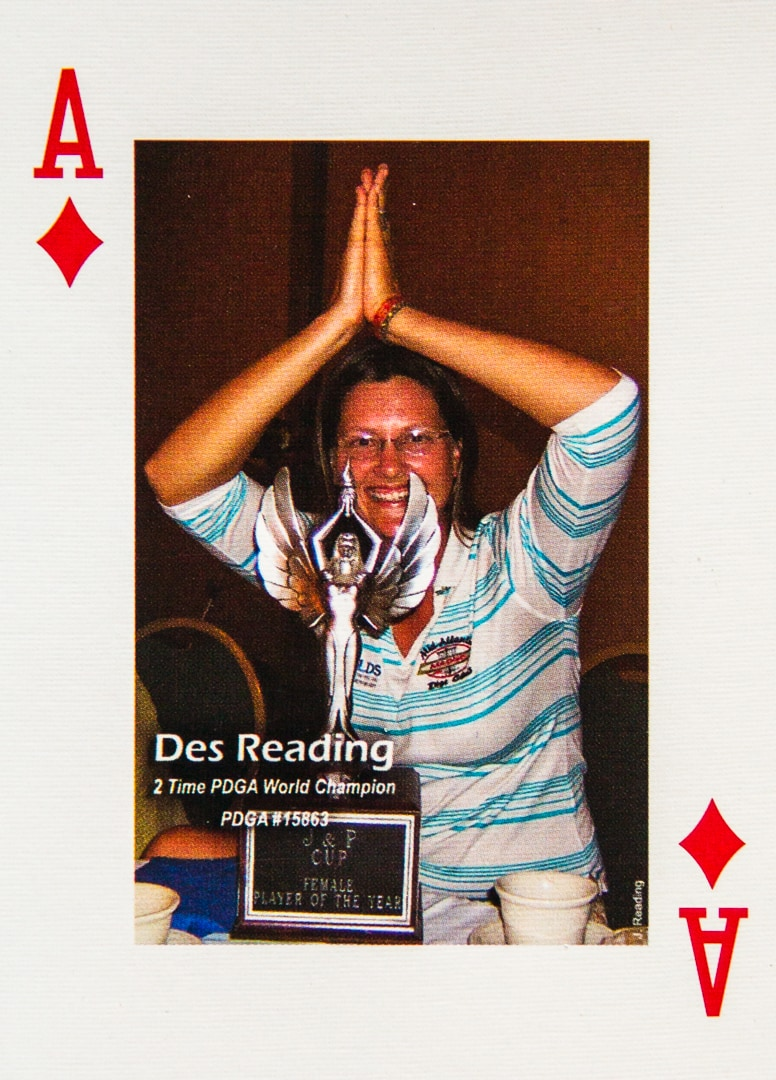 An image of Dude Clothing Playing Cards Ace of Diamonds Des Reading