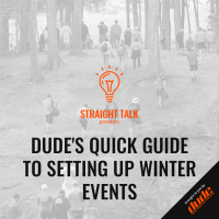An image of Dude Clothing Straight Talk Quick Guide To Setting up events