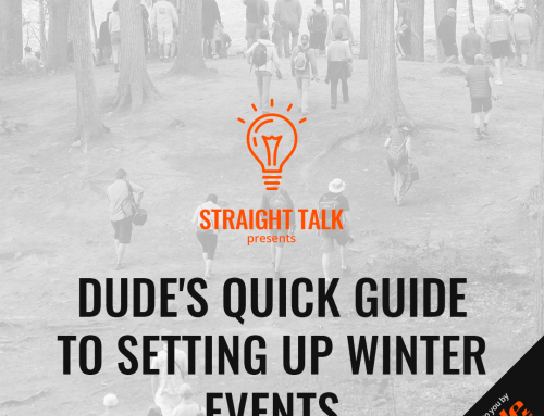 DUDE's Quick Guide To Setting Up Winter Events