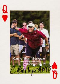 Dude Clothing Playing Cards Queen of Hearts Carrie Berlogar