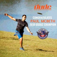 Dude Clothing Tournament Coverage USDGC 2018 Paul McBeth