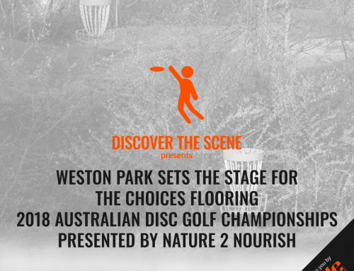 Weston Park Sets The Stage For The 2018 Australian Disc Golf Championships