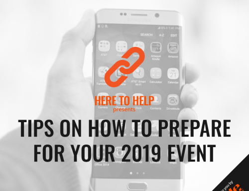 Tips on how to prepare for your 2020 event