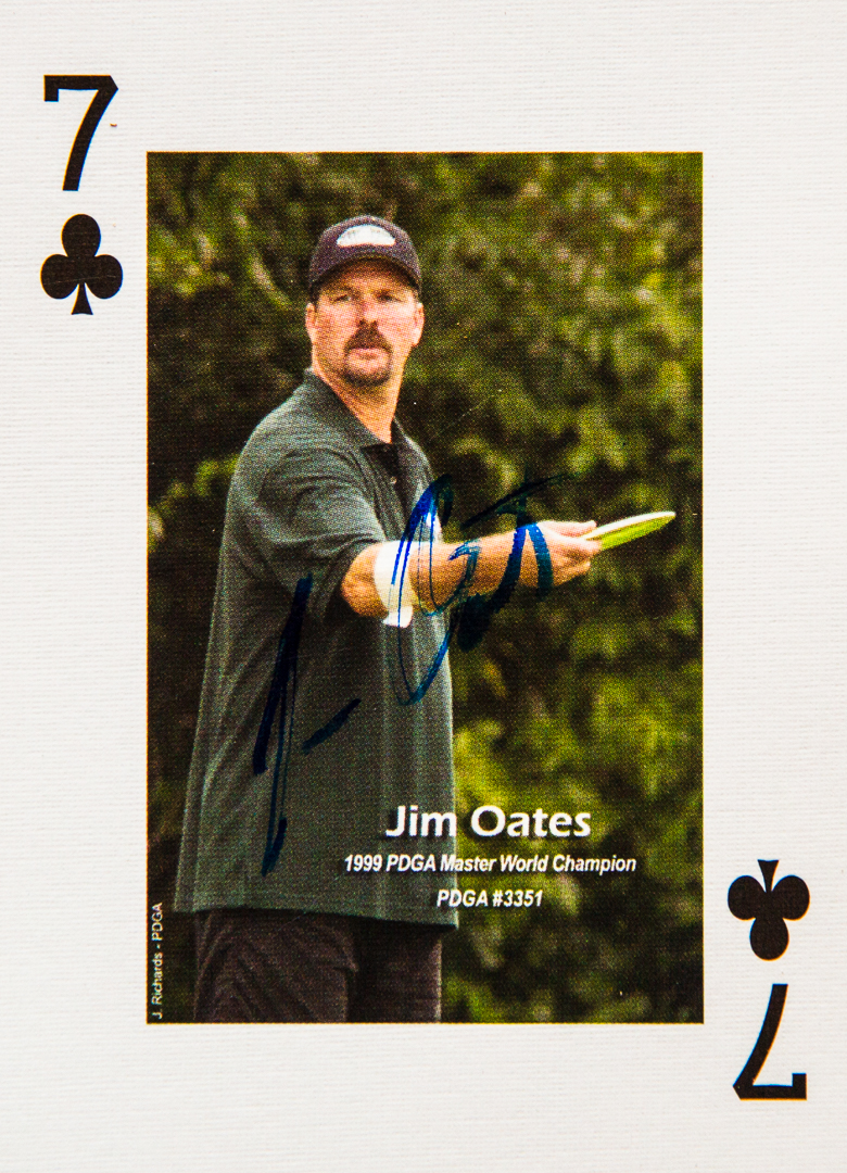 Dude Clothing Playing Cards Seven of Clubs Jim Oates