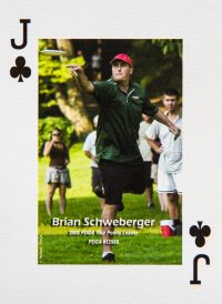 Dude Clothing Playing Cards Jack of Clubs Brian Schweberger