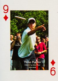 Dude Clothing Playing Cards Nine of Diamonds Timo Pursio